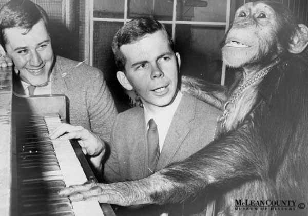 Don Munson and Chimp