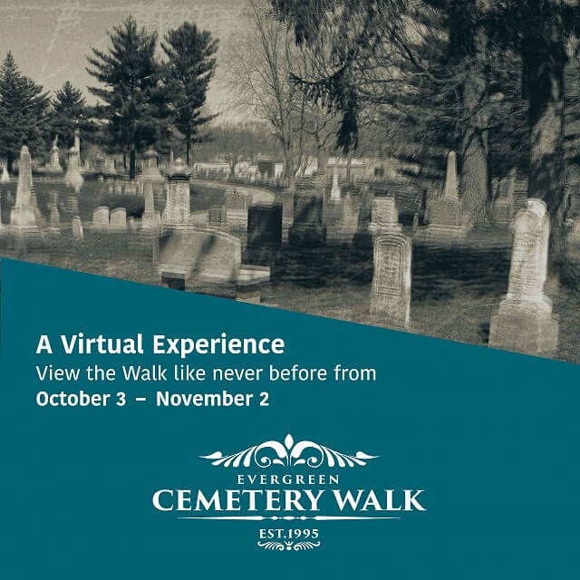The Evergreen Cemetery Walk Reimagined