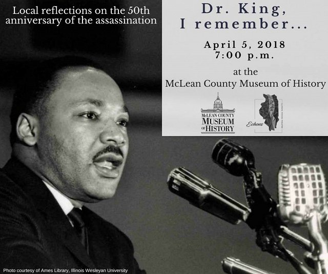 Dr. King, I Remember...local reflections on the 50th anniversary of the assassination.