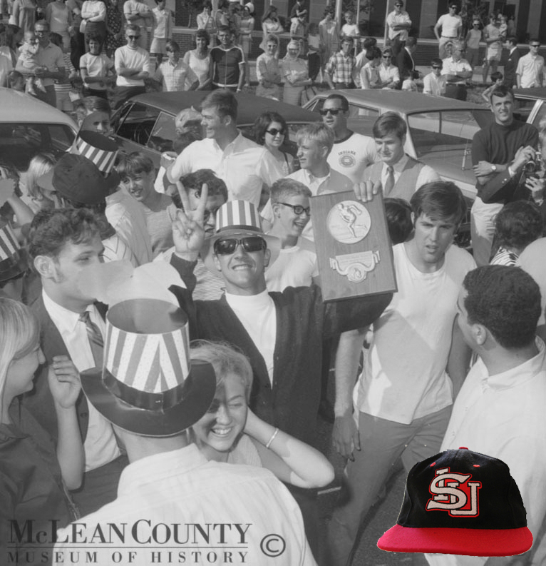 McLean County Museum of History Replica 1969 champions Illinois State Baseball Cap