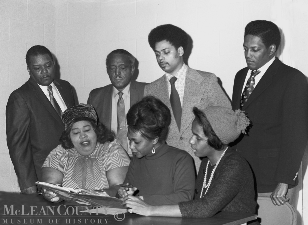 McLean County Museum of History Minority Voters Coalition 1972
