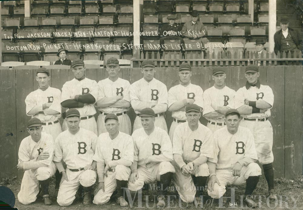 Bloomington Bloomers, 1913.