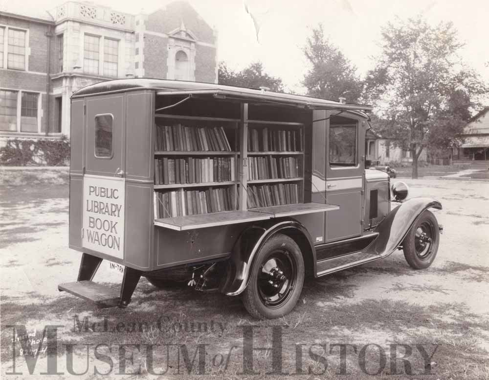 Bloomington bookmobile, undated