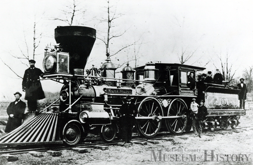 Locomotive, 1871.