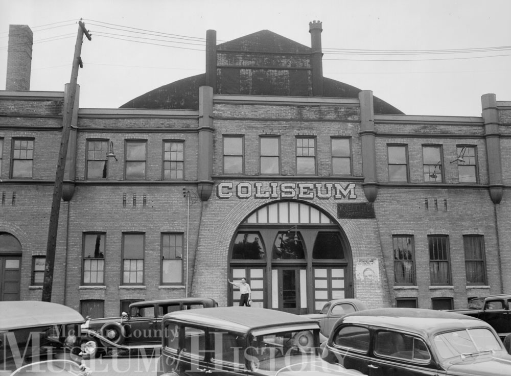 Coliseum in Bloomington, 1938.
