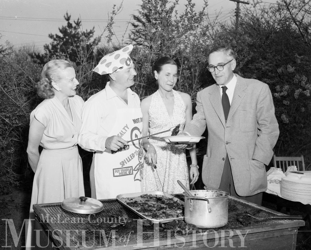 Barbecue, 1953.