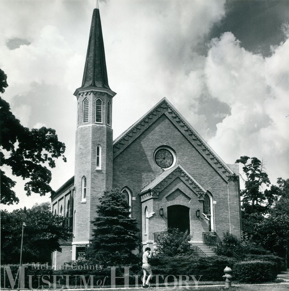 First Baptist Church in Normal, 1972.