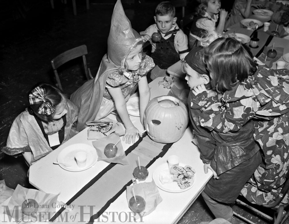 Holy Trinity Parish Halloween party, 1939.
