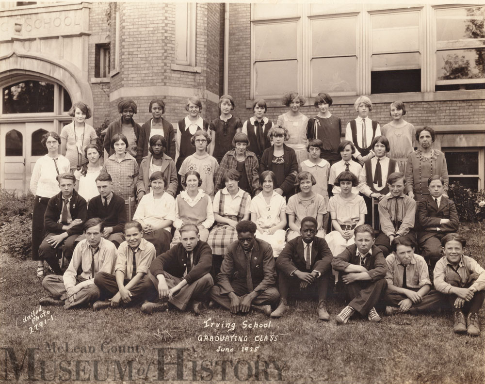 Irving School in Bloomington, 1935.
