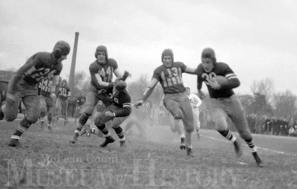 ISU vs IWU football, 1936.