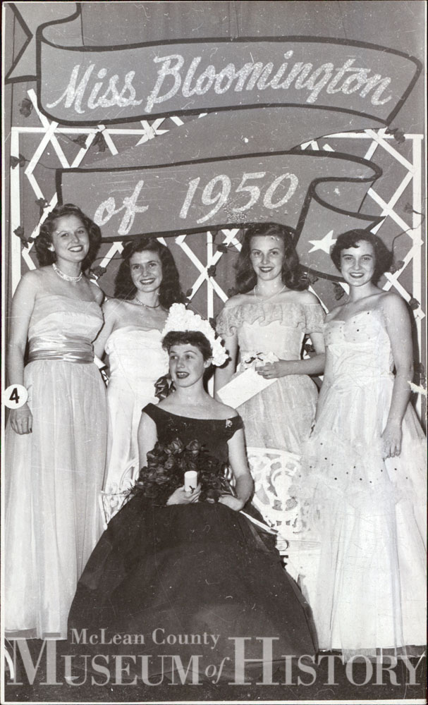 Miss Bloomington, 1950.