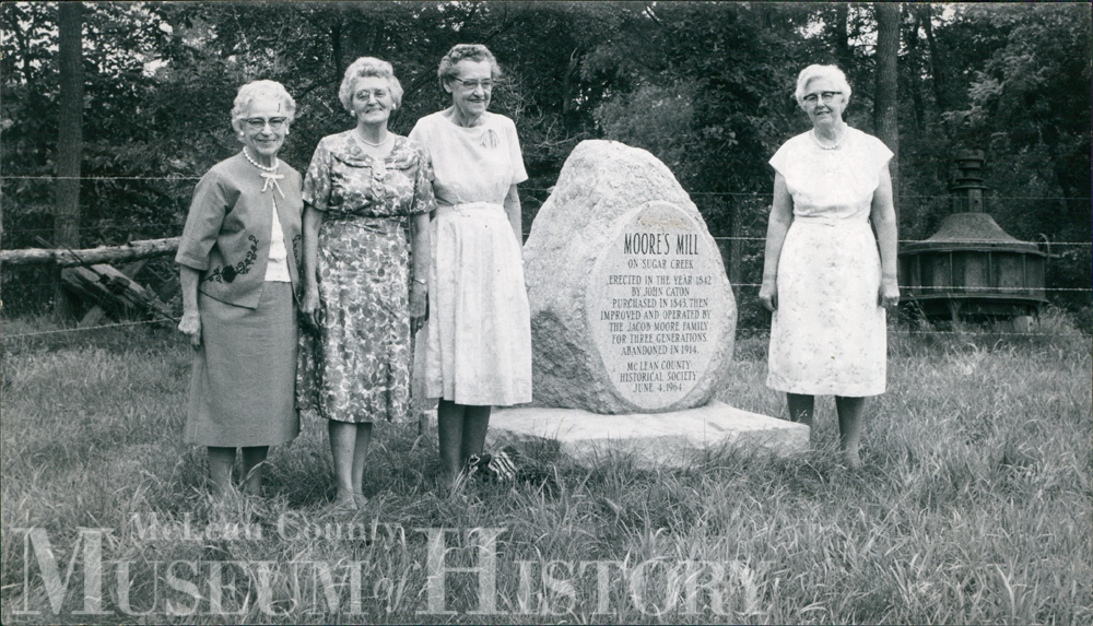 Moore's Mill Marker, 1960s.