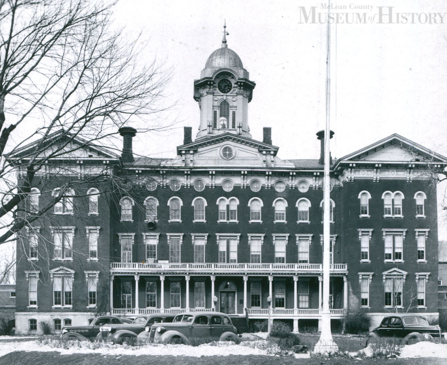 Old Main building, 1958.