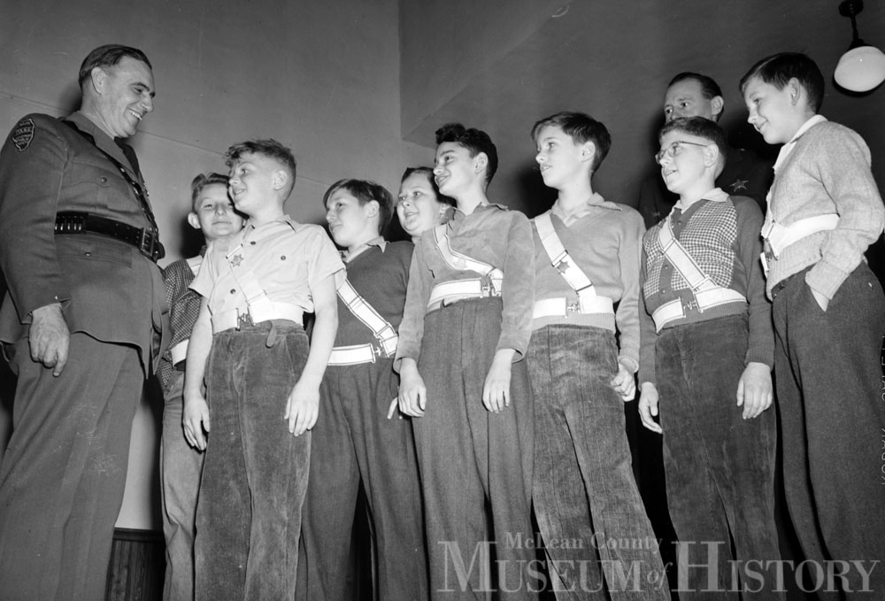 Franklin School patrol boys, 1946.
