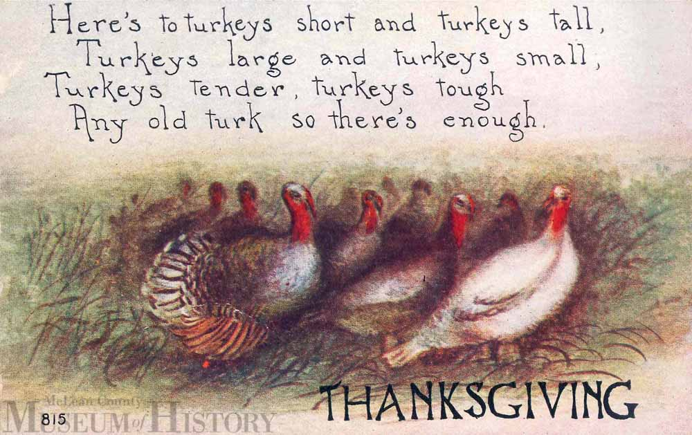 Thanksgiving card, undated.