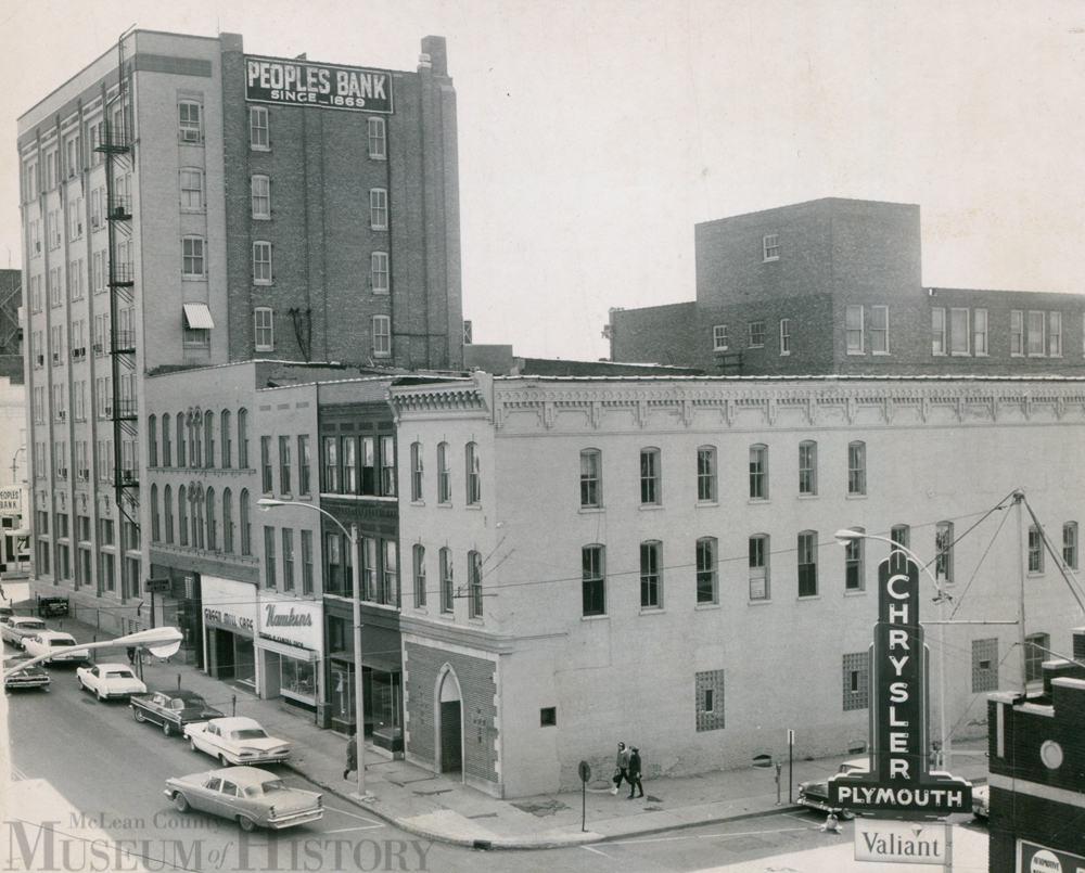 Downtown Bloomington, 1965.