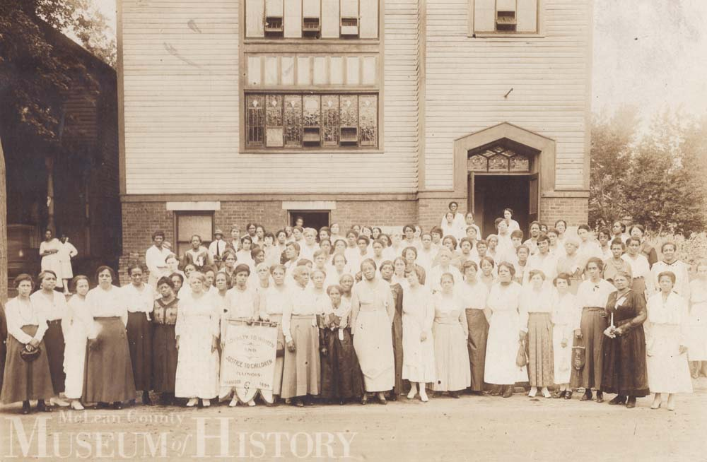 Federation of Colored Women's Club, 1918.