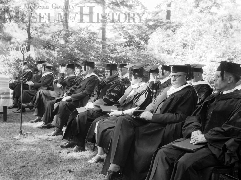 ISU Graduation ceremonies, 1936.