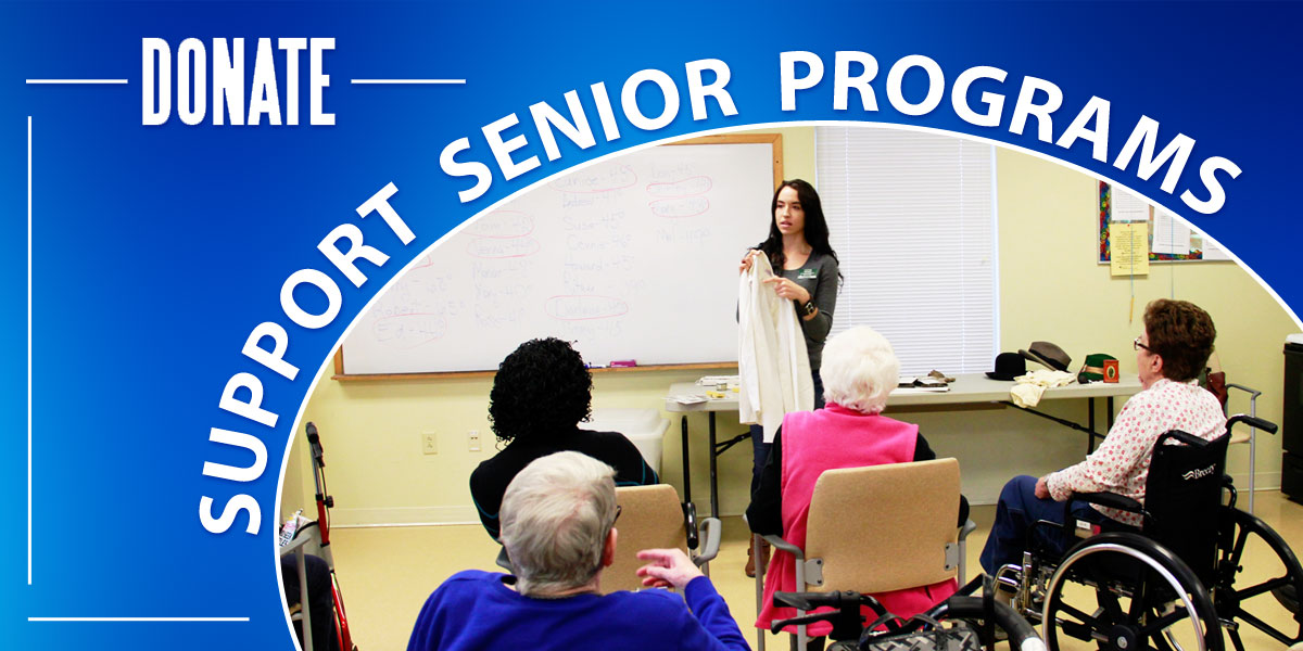 Senior Program Fundraising Logo