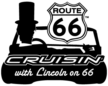 Cruisin with Lincoln on 66 Visitor's Center Logo