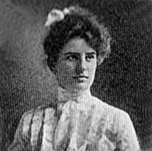 Ethel Hanson 1902 ISNU Yearbook Photo