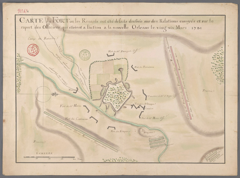 Fox Fort site, McLean County Illinois