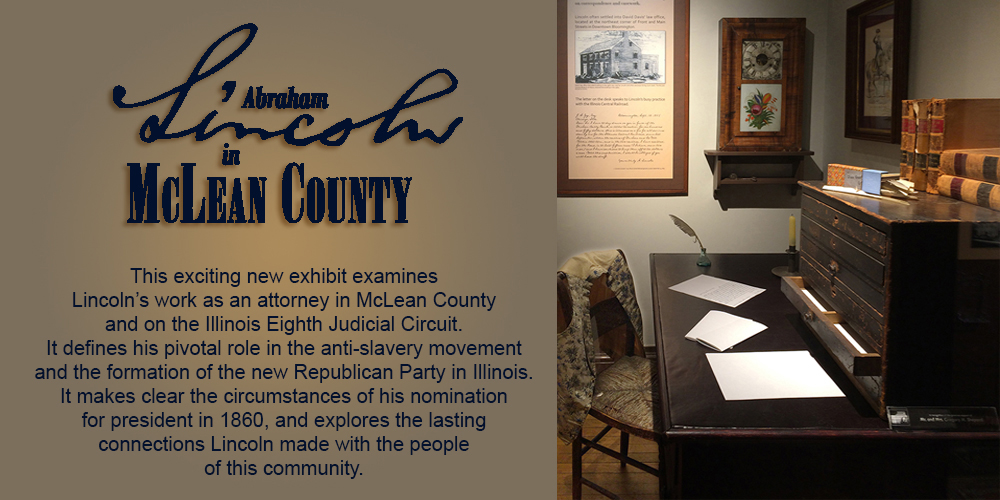 Abraham Lincoln in McLean County