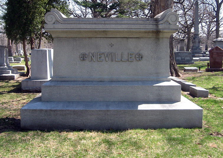 Edith Neville family stone