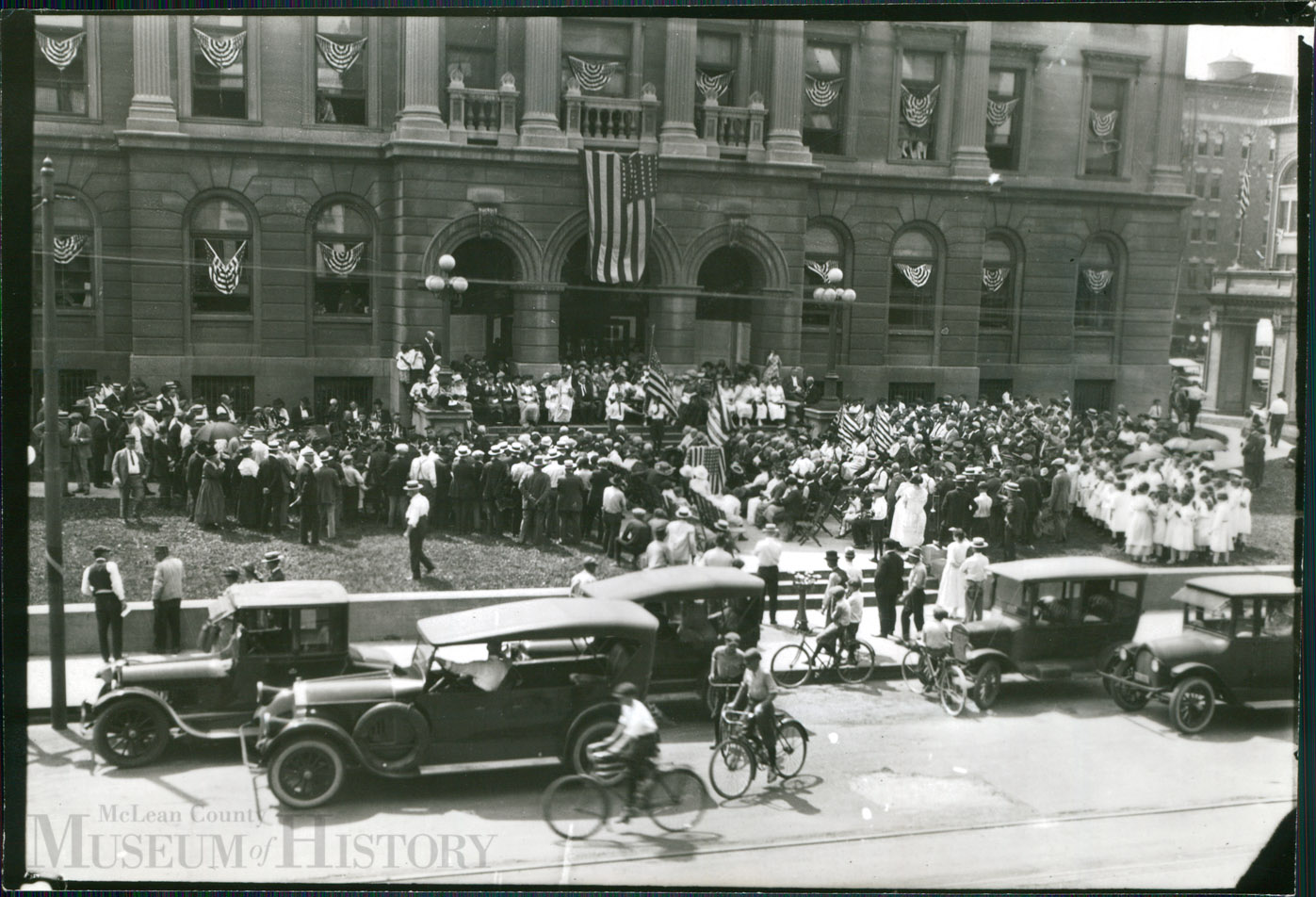 Lincoln Marker Dedication, June 1922