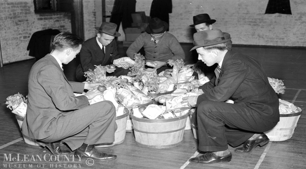 Photo of the Week, 92: Thanksgiving in the Great Depression, 1938
