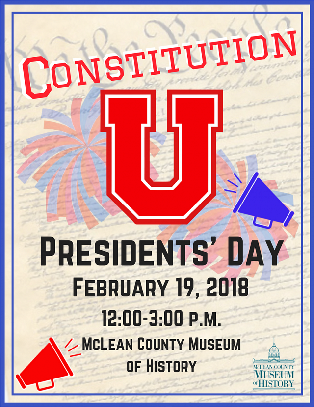Presidents' Day Open House: Constitution U