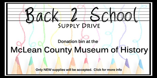 Back 2 School Supply Drive Begins