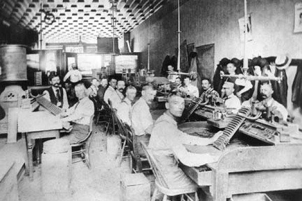 Tryner & Richardson Cigar Makers, 1894